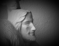 Escultura del Buen Pastor